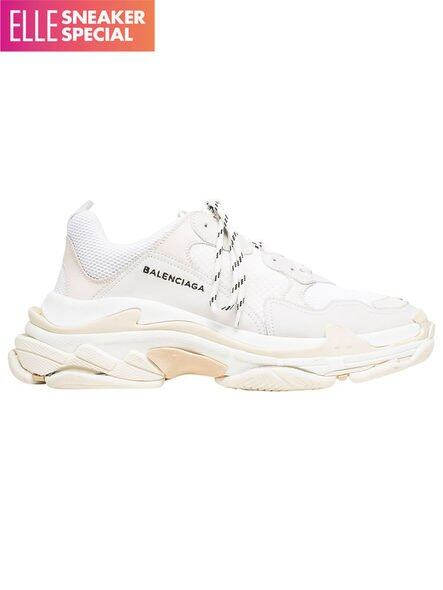 Balenciaga black Triple S clear sole sneakers price in Doha