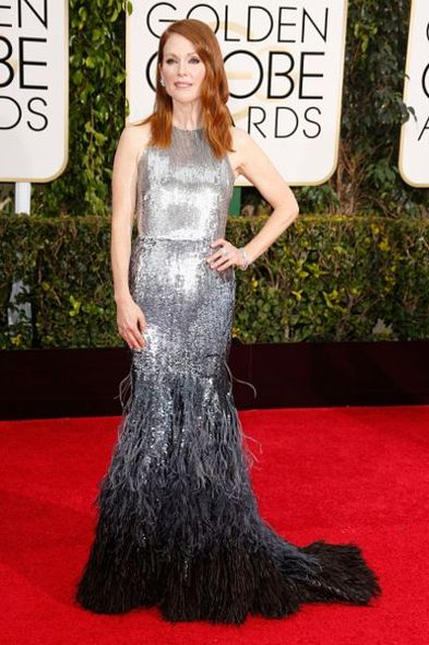 Julianne Moore, Givenchy Haute Couture, Golden Globes , 紅地毯,Red Carpet , 金球獎 , 時裝 , Fashion , 晚裝