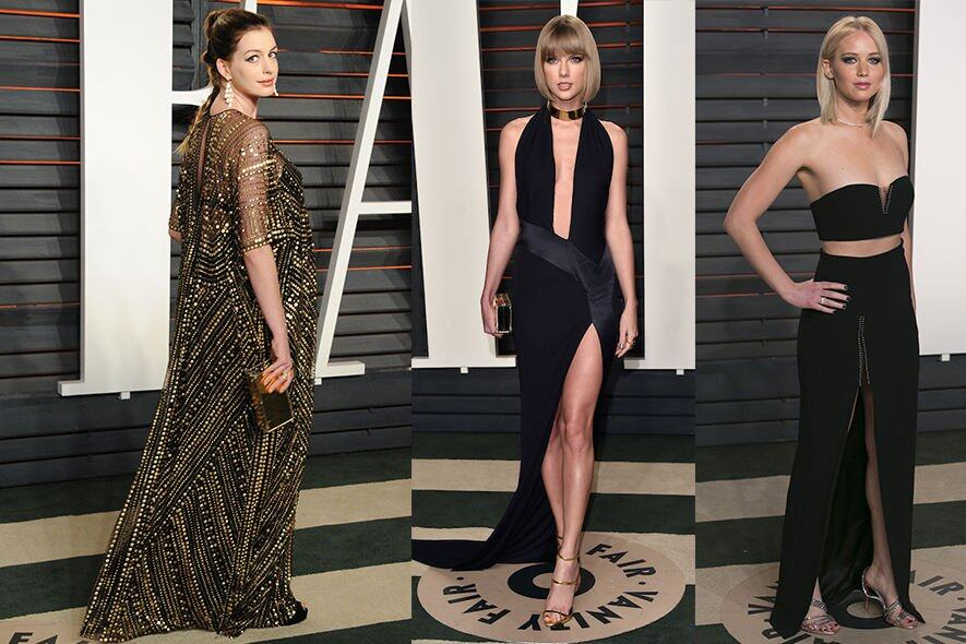 Oscar, 奧斯卡, Jennifer Lawrence, Anne Hathaway, Taylor Swift