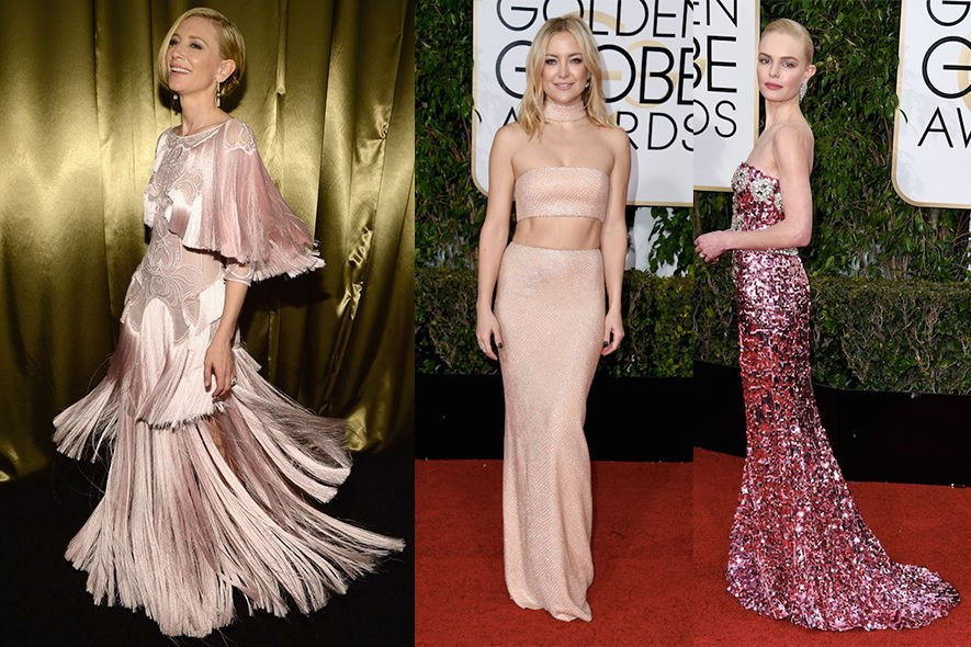Fashion ,  時裝 , 金球獎 , Golden Globes , Jennifer Lawrence , Cate Blanchett