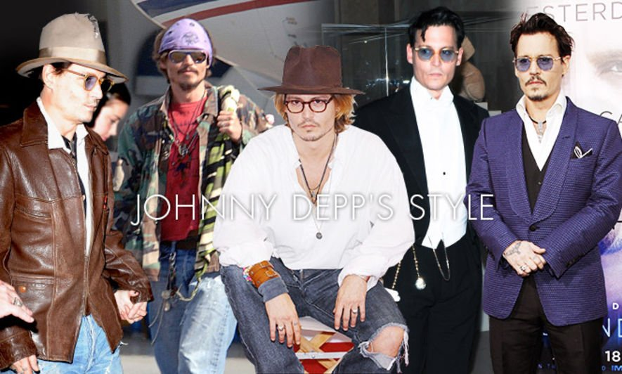 Johnny Depp, fashion style, 51th Birthday,51歳生日