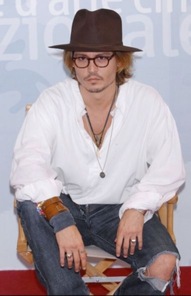 Johnny Depp, fashion style, 51th Birthday