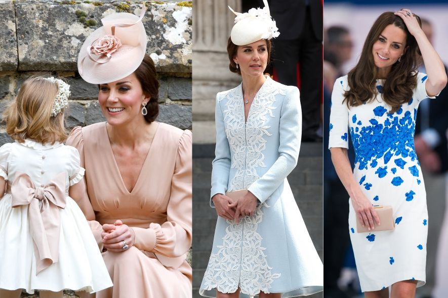 凱特王妃, Kate Middleton, 穿搭, 搭配