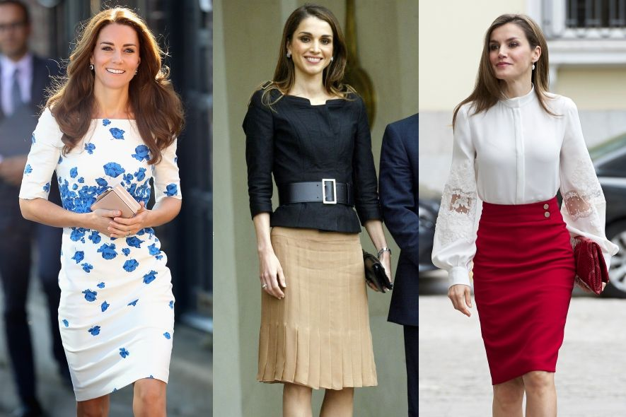 Kate Middleton, Melania Trump, 穿搭, 搭配, KOL, 西班牙王后, Letizia Ortiz Rocasolano, 約旦王后,  Rania Abdullah