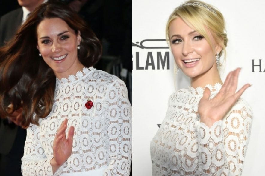 Self-Portrait, Kate Middleton, Paris Hilton, 凱特王妃, 連身裙
