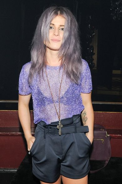 Kelly Osbourne, 2013 S/S fashion week