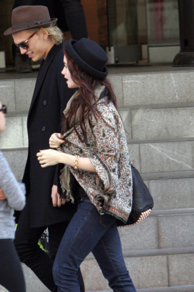 Lily Collins, Jamie Campbell-Bower,情侶裝, Fahsion, 時裝