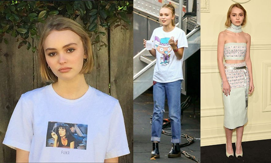 Lily Rose Depp, Johnny Depp, Fashion, 時裝, Style tips, 搭配
