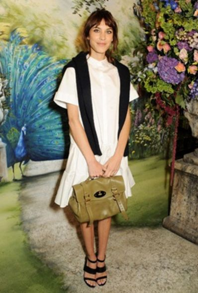 Alexa Chung, London Fashion Week