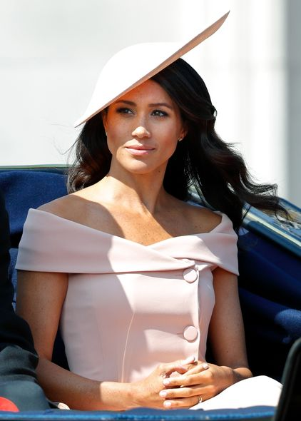 Philip Treacy, Carolina Herrera, Meghan Markle