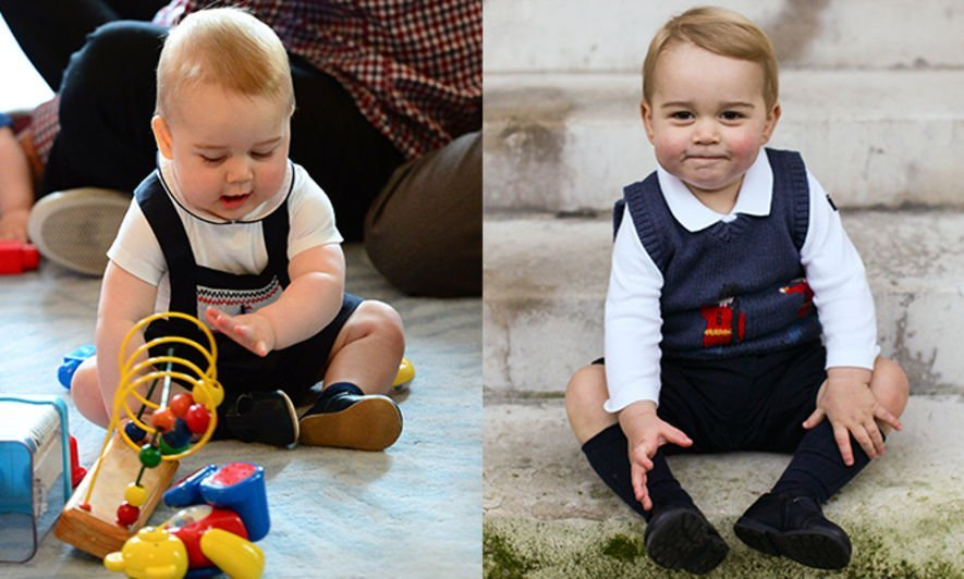Prince George, Style file, Prince William, Kate Middleton, 童裝, Fashion, 時裝