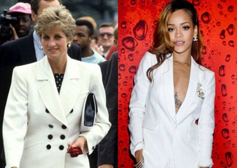 rihanna see princess diana as muse on clothes
