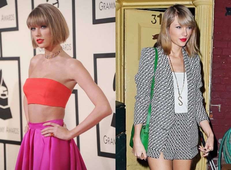 Taylor Swift red carpet, street style