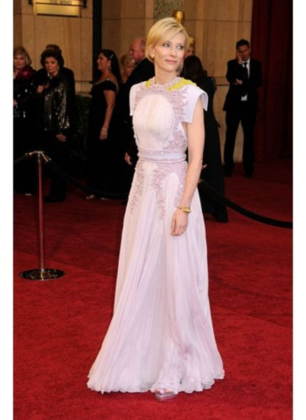 2011 Oscar red carpet, Cate Blanchett, Givenchy Couture