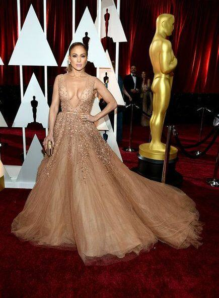 Oscar, 奧斯卡, 紅地毯, red carpet, Fashion, 時裝, 晚裝, Jennifer Lopez