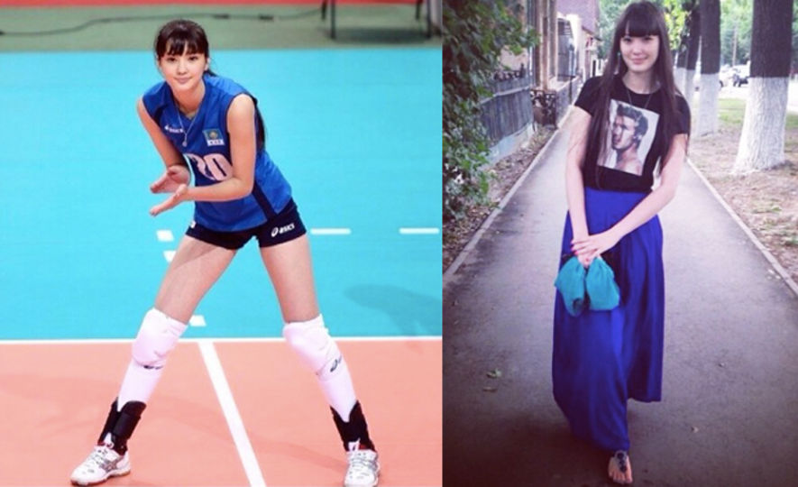 Altynbekova Sabina, 排球, volley ball , off duty style, fashion style