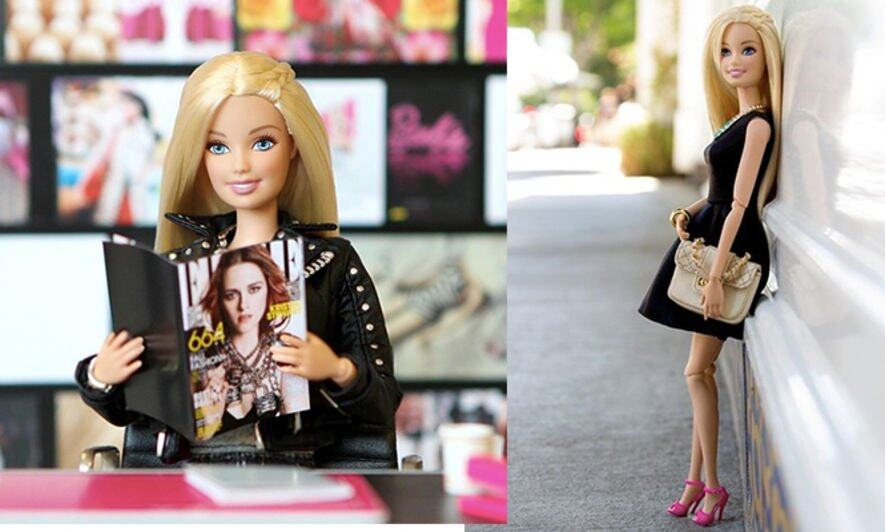 Barbie, SS15, fashion week, 時裝周, Instagram