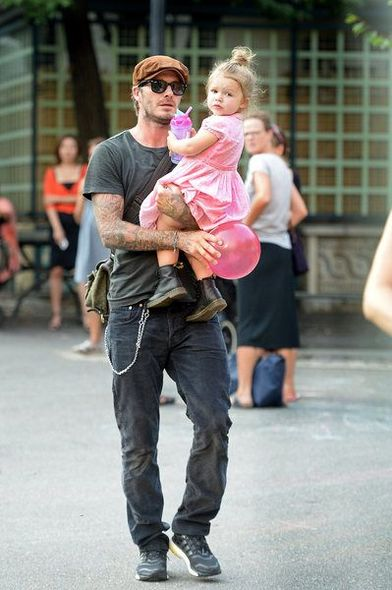 David Beckham, 碧咸, Brooklyn, Harper, WeSC, fashion, celebrity