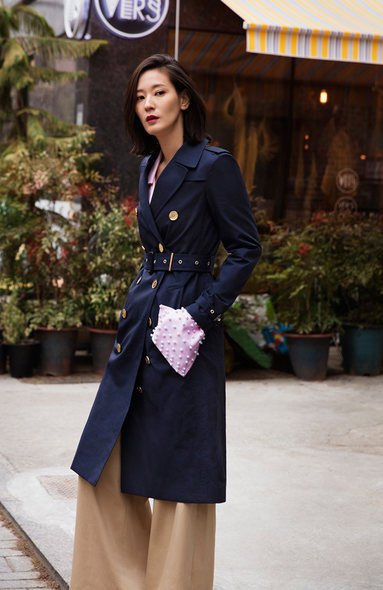 Burberry, Trench coat, 車勝元, 崔智友, Ktrend, Art of the Trench