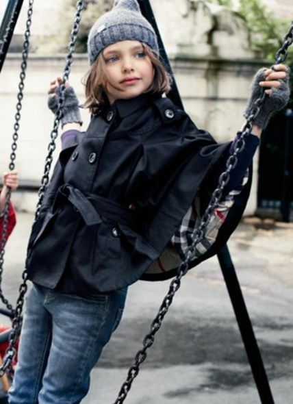 Burberry Christopher Bailey mini-me concept Childrenswear