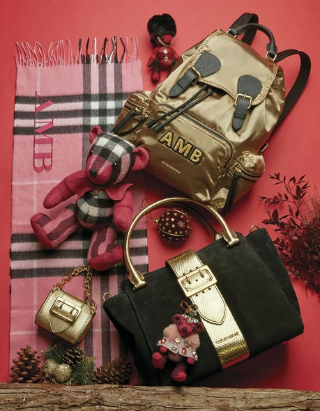 Burberry, The Tale of Thomas Burberry, monogramming