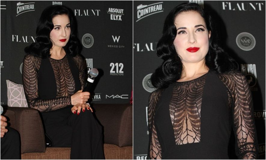 Dita Von Teese, Celeb Style, Runway to Real-Way