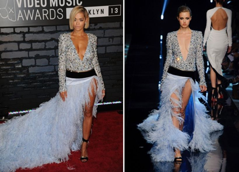Runway To Red Carpet, 2013 MTV Video Music Awards, Rita Ora