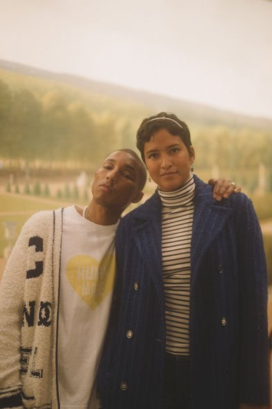 Pharrell WILLIAMS 和太太 Helen WILLIAMS