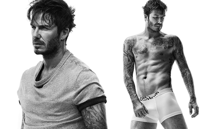 David Beckham, Bodywear, H&M, 碧咸, 秋季, 內衣