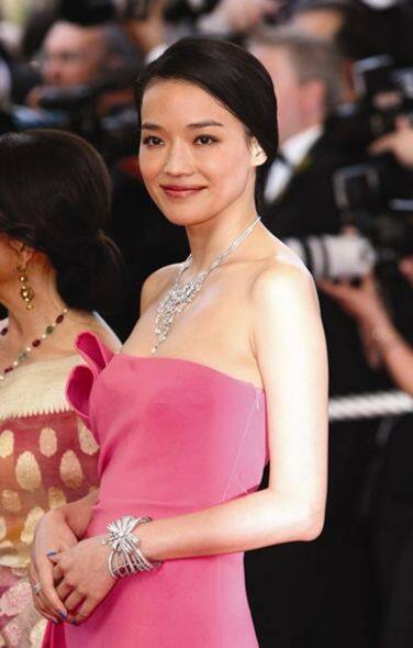 cartier shu qi red carpet