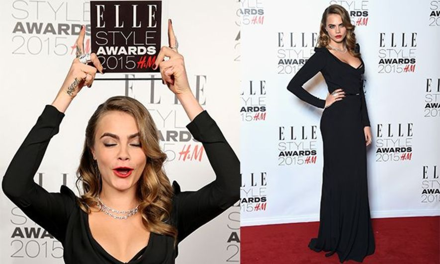 ELLE, Cara Delevingne, Diane Kruger,Alexa Chung, Fashion, 時裝, red carpet, 紅地毯