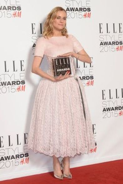 Diane Kruger, ELLE, Cara Delevingne, Diane Kruger,Alexa Chung, Fashion, 時裝, red carpet, 紅地毯