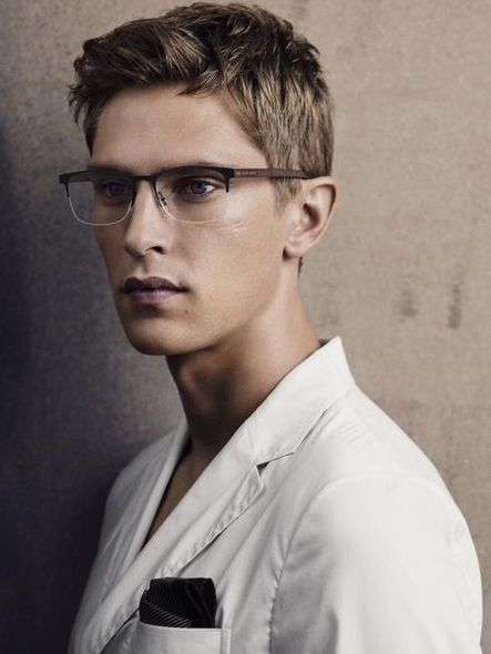 Giorgio Armani, 時裝, Fashion, 模特兒,  Josephine Le Tutour, Mathias Lauridsen