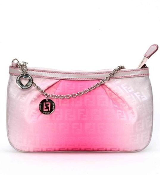 fashion accessories Pink Pouch With Chain $2980