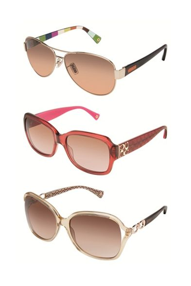 Coach, sunglasses, fashion accessories, Spring Summer 2012