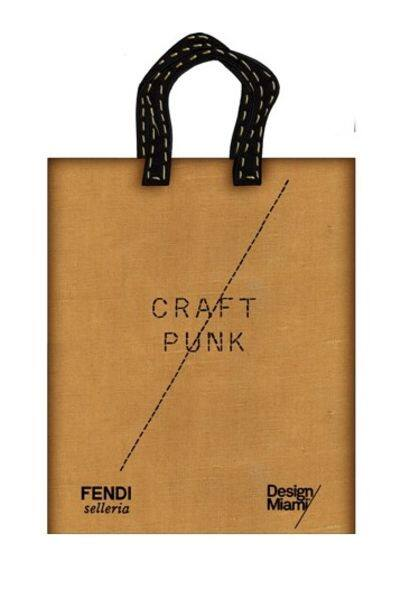 Fendi Design Miami crossover craft punk exhibition fashion accessories