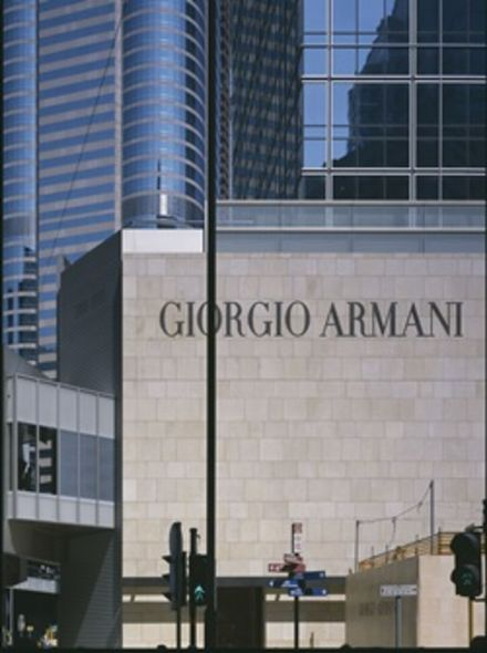 new post, CEO, armani