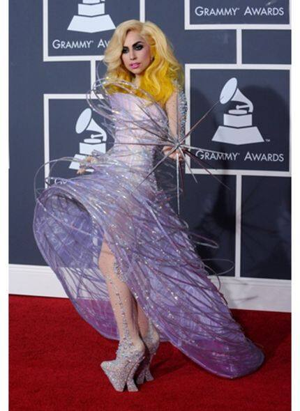 Giorgio Armani for Lady Gaga at Grammy Awards