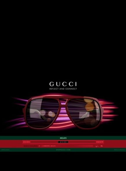 gucci eyeweb Frida Giannini