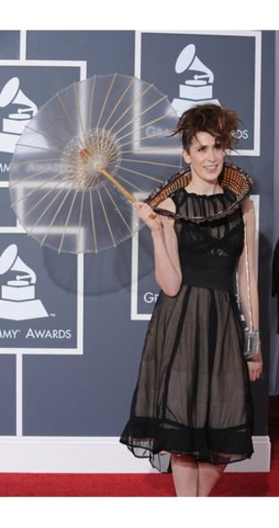 Imogen Heap wore Fendi at Grammy Awards