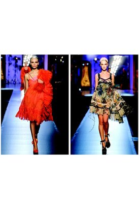 Jean Paul Gaultier Kay spring summer collection runway