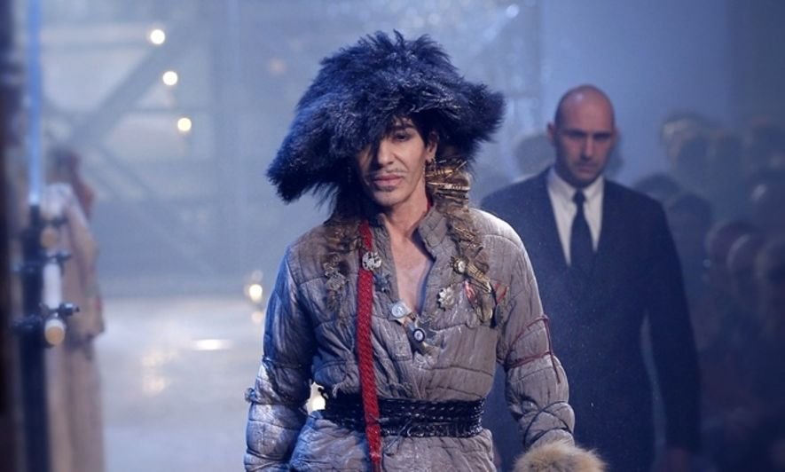 John Galliano, Charlie Rose