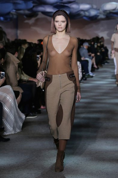 Kendall Jenner, SS15, 2015時裝周, fashion week