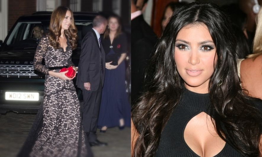 Kim Kardashian, Kate Middleton, 時裝資訊