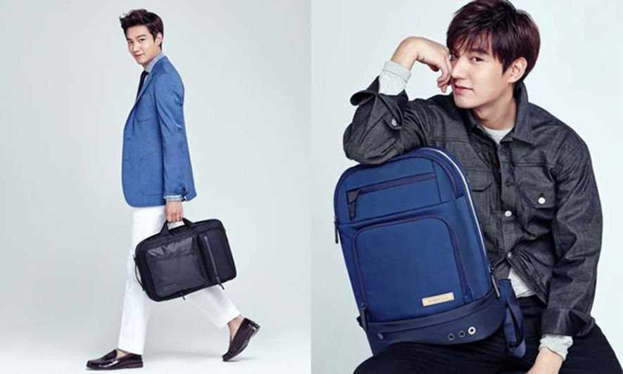 李敏鎬, Samsonite, 韓國時裝, Korean fashion, Ktrend