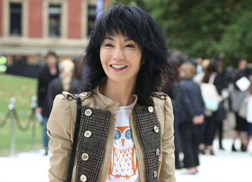 Burberry Prorsum, runway, London fashion week, 2013 Spring Summer, Maggie Cheung