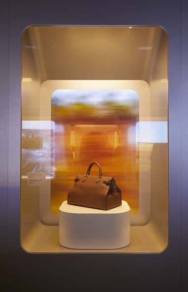 Louis Vuitton, 時空・錦・囊, Time Capsule, 展覽
