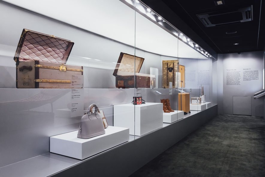 Louis Vuitton, Time Capsule, 時空・錦・囊, 展覽