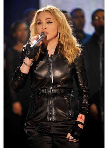 Madonna wore Gucci jacket for the Hope for Haiti Telethon