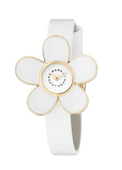 Marc by Marc Jacobs Daisy Bloom Bauble Charm watch fashion accessories